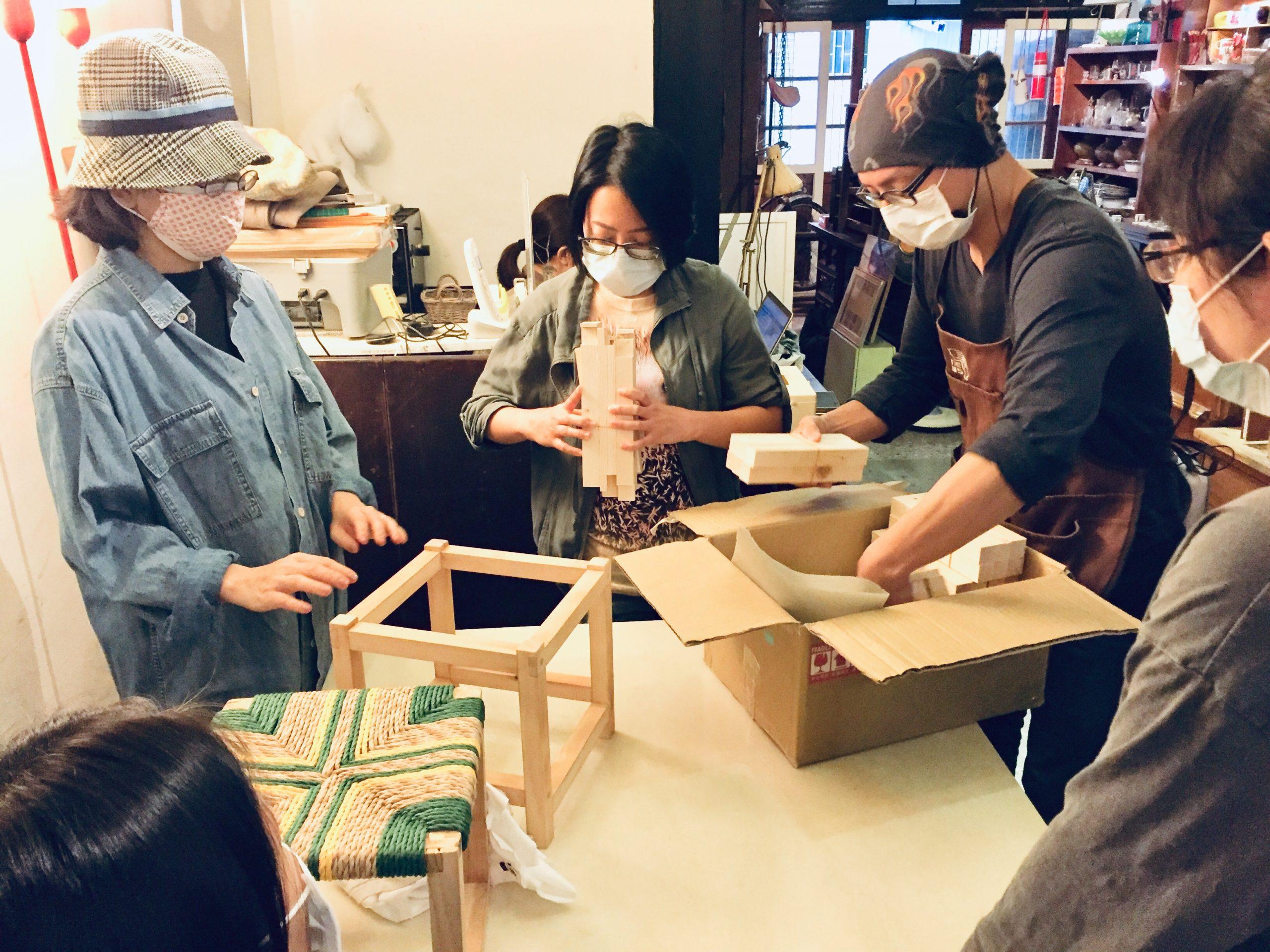 『親手自造 梵谷椅凳』課程紀錄