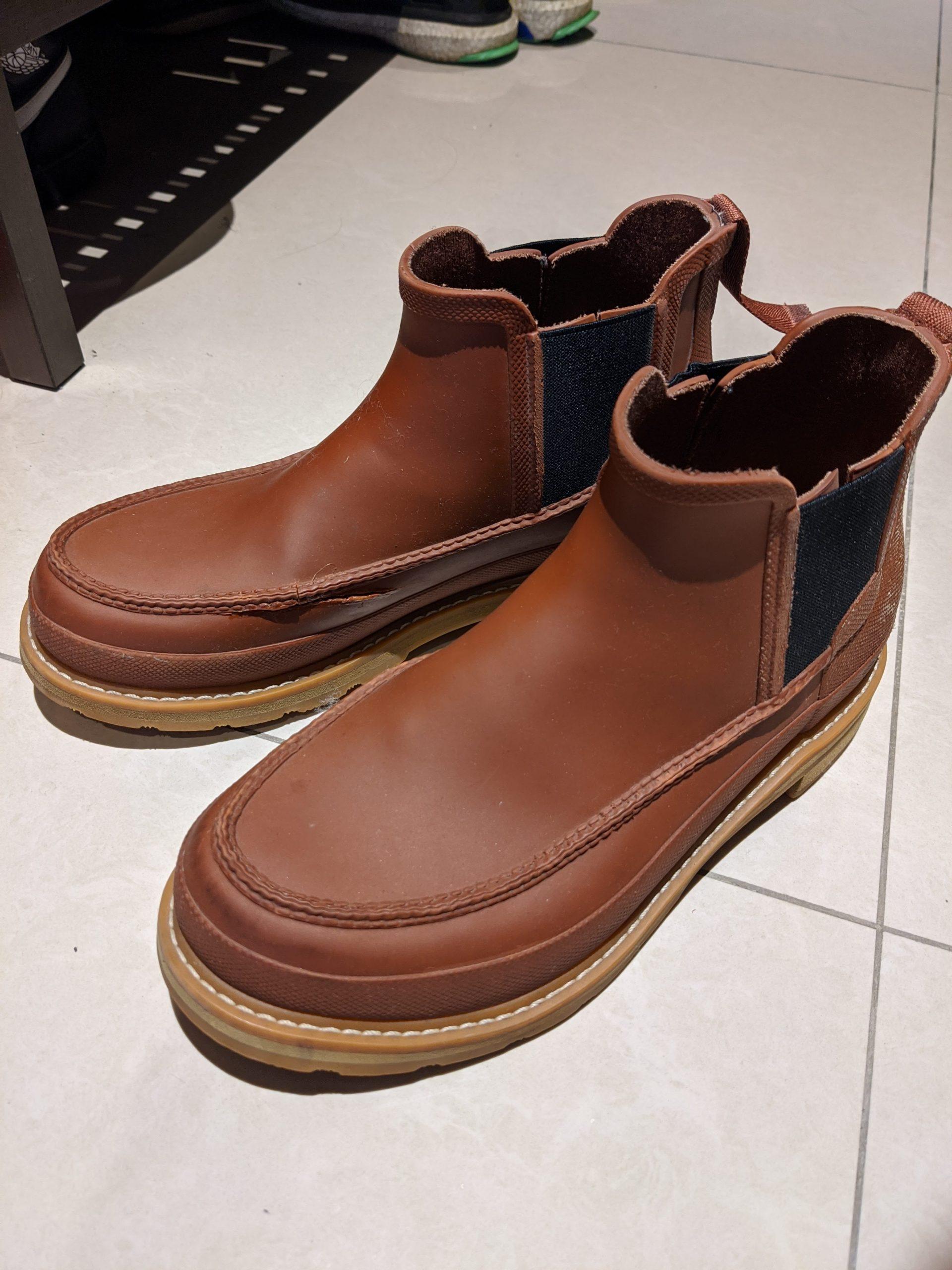 【送修實測】003_Hunter 切爾西雨鞋