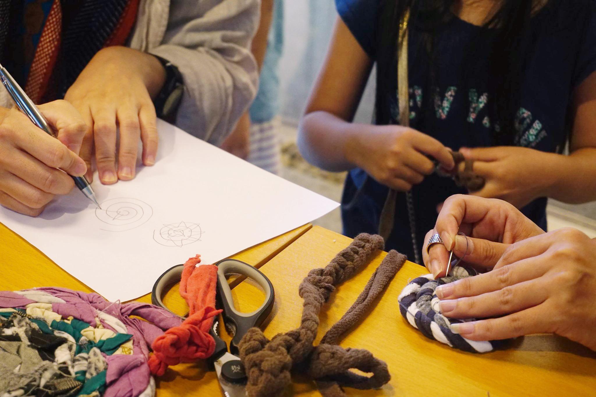 來跟孩子一起玩舊衣-新竹親子館課程預告(2020.9.11)