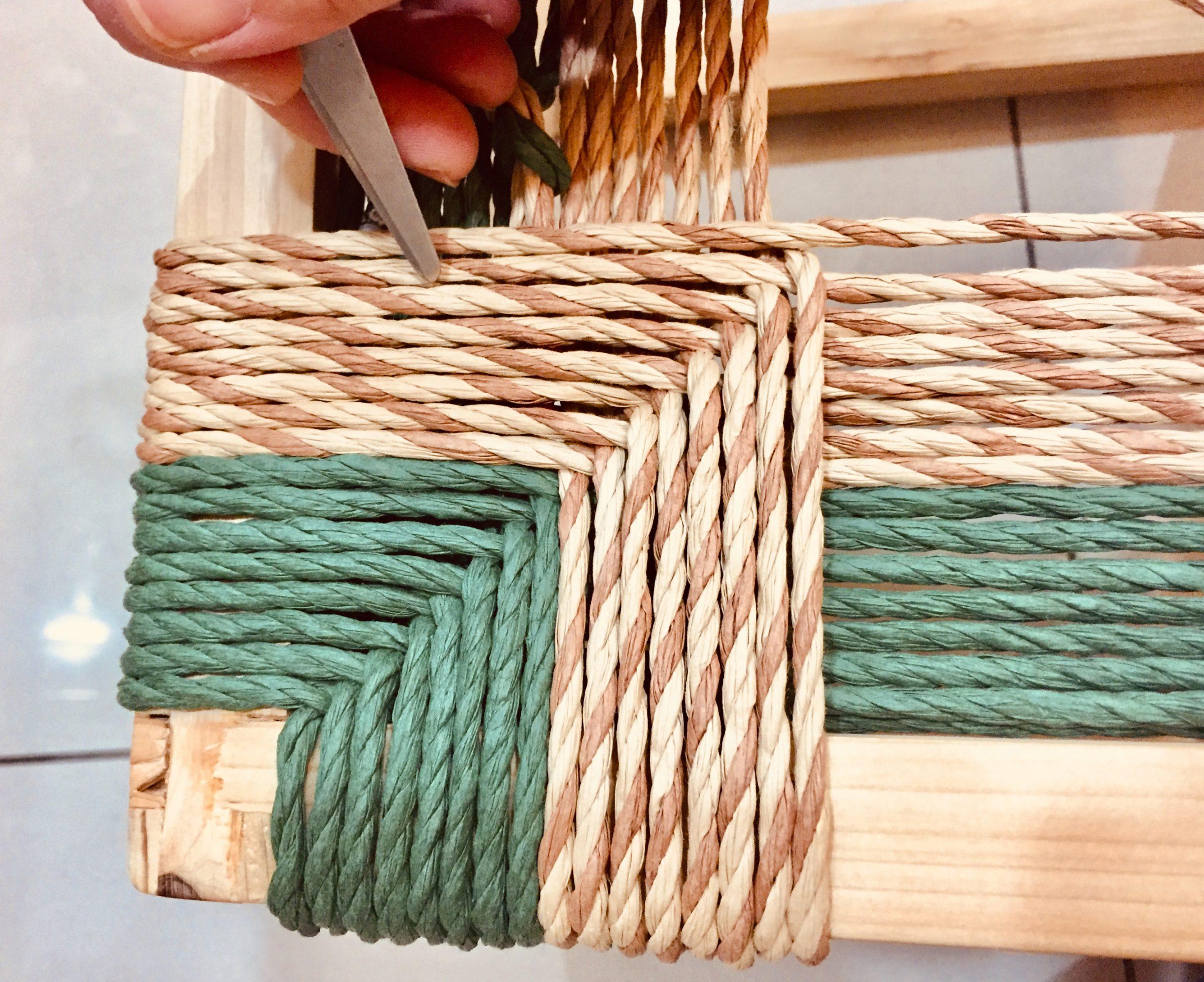 親手自造 梵谷椅面編織(2020年12月課程)